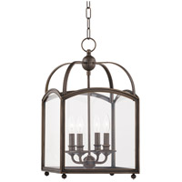 Millbrook 4 Light 12 inch Distressed Bronze Pendant Ceiling Light