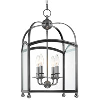 Hudson Valley Lighting Millbrook 4 Light Pendant in Polished Nickel 8412-PN