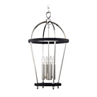 Hudson Valley 8413-PN Chesterfield 4 Light 15 inch Polished Nickel Pendant Ceiling Light