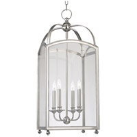 Hudson Valley 8414-PN Millbrook 4 Light 14 inch Polished Nickel Chandelier Ceiling Light