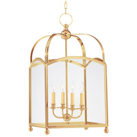 Millbrook 4 Light 16 inch Aged Brass Pendant Ceiling Light