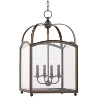 Millbrook 4 Light 16 inch Distressed Bronze Pendant Ceiling Light