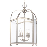 Hudson Valley Lighting Millbrook 4 Light Pendant in Polished Nickel 8416-PN