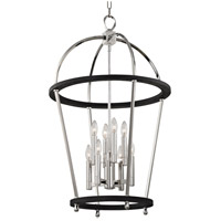Hudson Valley 8423-PN Chesterfield 8 Light 23 inch Polished Nickel Pendant Ceiling Light