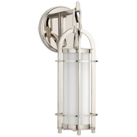 Portland 1 Light 6 inch Polished Nickel Bath And Vanity Wall Light