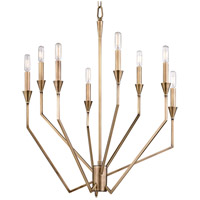 Archie 8 Light 25 inch Aged Brass Chandelier Ceiling Light