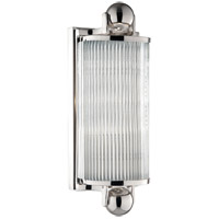 Hudson Valley Lighting Mclean 1 Light Bath And Vanity in Polished Nickel 851-PN