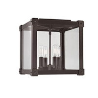 Hudson Valley Lighting Forsyth 4 Light Flush Mount in Old Bronze 8600-OB