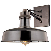 Hudson Falls 1 Light 10 inch Distressed Bronze Wall Sconce Wall Light