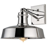 Hudson Valley Lighting Hudson Falls 1 Light Wall Sconce in Polished Nickel 8601-PN