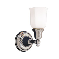 Historic 1 Light 5 inch Polished Chrome Bath And Vanity Wall Light in 119