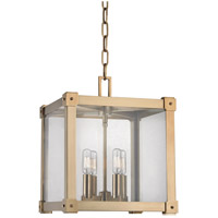 Forsyth 4 Light 12 inch Aged Brass Pendant Ceiling Light