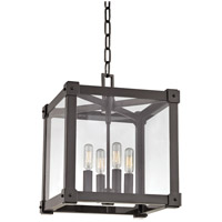 Hudson Valley Lighting Forsyth 4 Light Pendant in Old Bronze 8612-OB