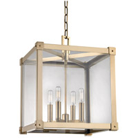 Hudson Valley Lighting Forsyth 4 Light Pendant in Aged Brass 8616-AGB