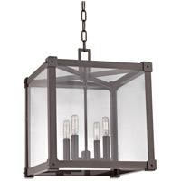 Forsyth 4 Light 16 inch Old Bronze Pendant Ceiling Light