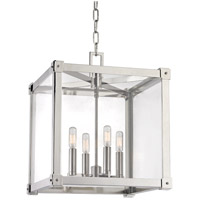 Hudson Valley Lighting Forsyth 4 Light Pendant in Polished Nickel 8616-PN