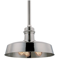 Hudson Falls 3 Light 18 inch Polished Nickel Pendant Ceiling Light