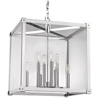 Forsyth 8 Light 20 inch Polished Nickel Pendant Ceiling Light