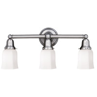Historic 3 Light 25 inch Polished Nickel Bath And Vanity Wall Light in 119