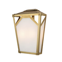Hudson Valley Lighting Carlisle 2 Light Wall Sconce in Aged Brass 8702-AGB