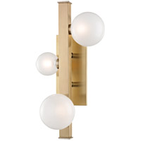 Mini Hinsdale LED 10 inch Aged Brass Wall Sconce Wall Light