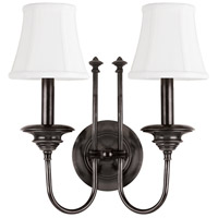 Hudson Valley 8712-OB Yorktown 2 Light 14 inch Old Bronze Wall Sconce Wall Light photo thumbnail