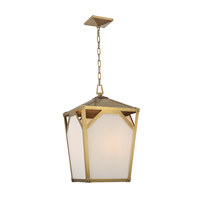 Hudson Valley Lighting Carlisle 4 Light Pendant in Aged Brass 8715-AGB