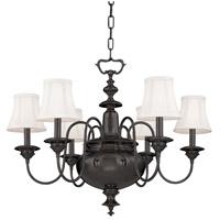 Hudson Valley 8716-OB Yorktown 6 Light 30 inch Old Bronze Chandelier Ceiling Light