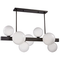 Hudson Valley 8717-OB Hinsdale 7 Light 44 inch Old Bronze Island Ceiling Light