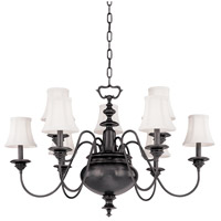 Yorktown 9 Light 37 inch Old Bronze Chandelier Ceiling Light
