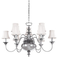 Hudson Valley 8719-PN Yorktown 9 Light 37 inch Polished Nickel Chandelier Ceiling Light