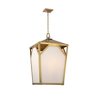 Hudson Valley Lighting Carlisle 8 Light Chandelier in Aged Brass 8720-AGB