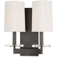 Hudson Valley Lighting Chelsea 2 Light Wall Sconce in Old Bronze 8802-OB