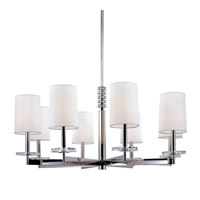 Chelsea 8 Light 36 inch Polished Nickel Chandelier Ceiling Light