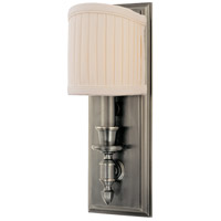 Bridgehampton 1 Light 5 inch Historic Nickel Wall Sconce Wall Light
