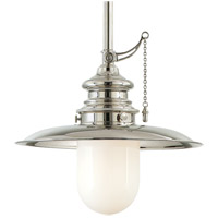 Hudson Valley 8810-PN Kendall 1 Light 10 inch Polished Nickel Pendant Ceiling Light