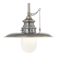 Kendall 1 Light 15 inch Historic Nickel Pendant Ceiling Light