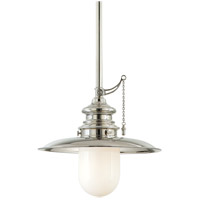 Kendall 1 Light 15 inch Polished Nickel Pendant Ceiling Light