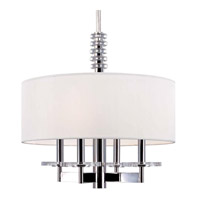 Hudson Valley Lighting Chelsea 4 Light Pendant in Polished Nickel 8818-PN