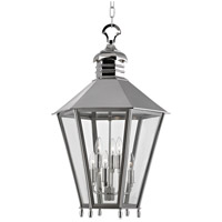 Hudson Valley Lighting Barstow 6 Light Chandelier in Polished Nickel 8819-PN