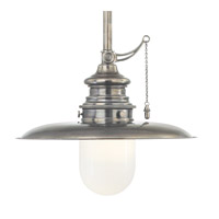 Hudson Valley Lighting Kendall 1 Light Pendant in Historic Nickel 8820-HN