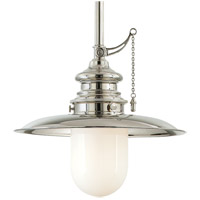 Hudson Valley 8820-PN Kendall 1 Light 20 inch Polished Nickel Pendant Ceiling Light