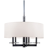 Hudson Valley 8824-PN Chelsea 5 Light 24 inch Polished Nickel Chandelier Ceiling Light