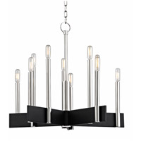Hudson Valley 8825-PN Abrams 10 Light 25 inch Polished Nickel Chandelier Ceiling Light