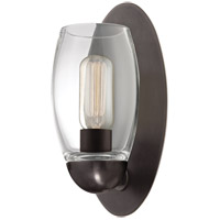 Hudson Valley Lighting Pamelia 1 Light Fluorescent Wall Sconce in Old Bronze 8841-OB