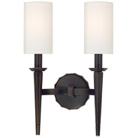 Hudson Valley 8882-OB Tioga 2 Light 11 inch Old Bronze Wall Sconce Wall Light