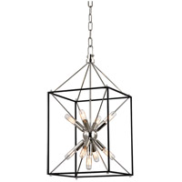 Hudson Valley 8912-PN Glendale 9 Light 12 inch Polished Nickel Pendant Ceiling Light