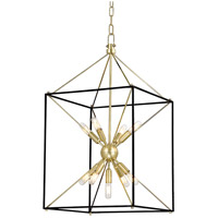 Hudson Valley Lighting Glendale 9 Light Pendant in Aged Brass 8916-AGB