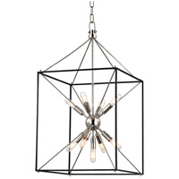 Hudson Valley Lighting Glendale 9 Light Pendant in Polished Nickel 8916-PN
