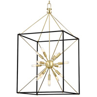Glendale 13 Light 20 inch Aged Brass Pendant Ceiling Light